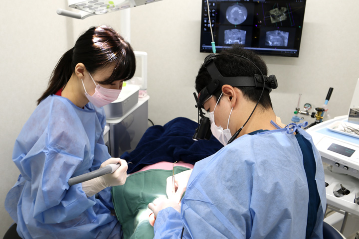 インプラント1次手術